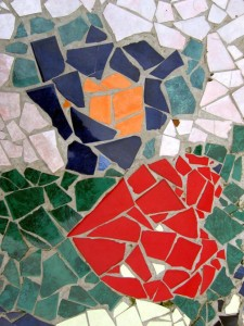 heart mosaic small