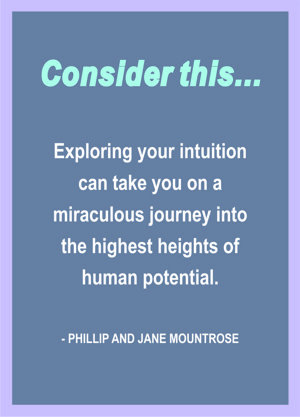 Phillip and Jane Mountrose on Intuition