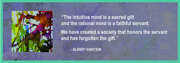 Einstein Quote on Intuition