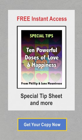 Special Tips on Love and Happiness
